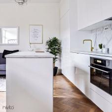 Robinet De Cuisine Dore/Or/Laiton - Nivito 9-RH-360