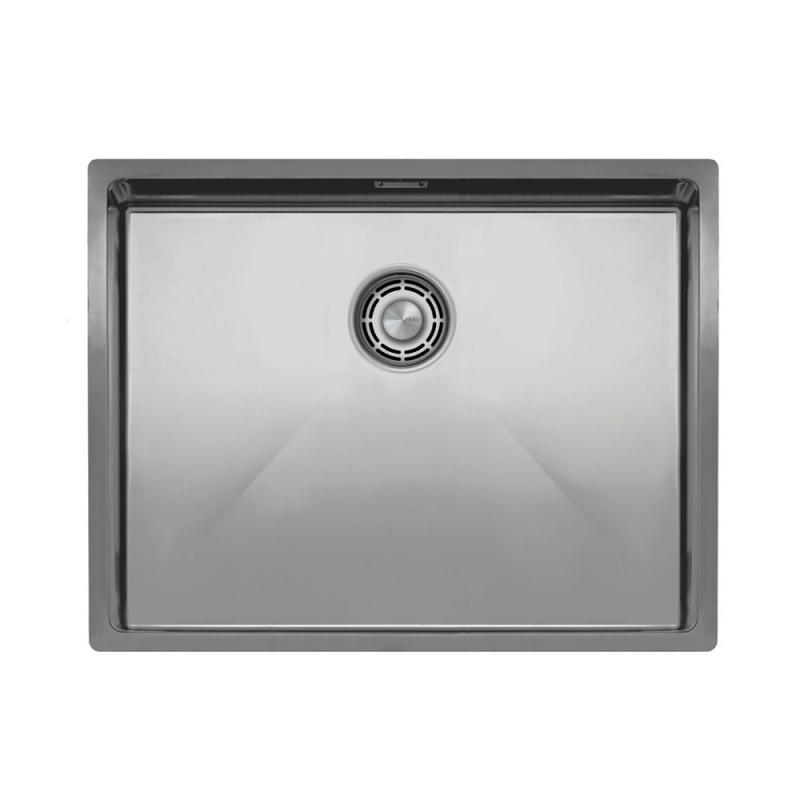 Évier De Cuisine Acier Inoxydable - Nivito CU-550-B Strainer ∕ Waste Kit Color Brushed Steel