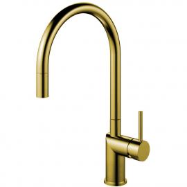 Goud/Messing Keukenkraan Uittrekbare slang - Nivito RH-140-EX